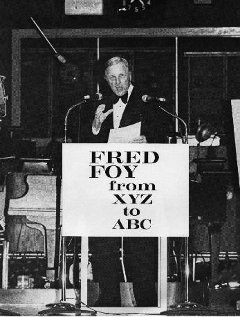 Fred Foy: from XYZ to ABC bookcover